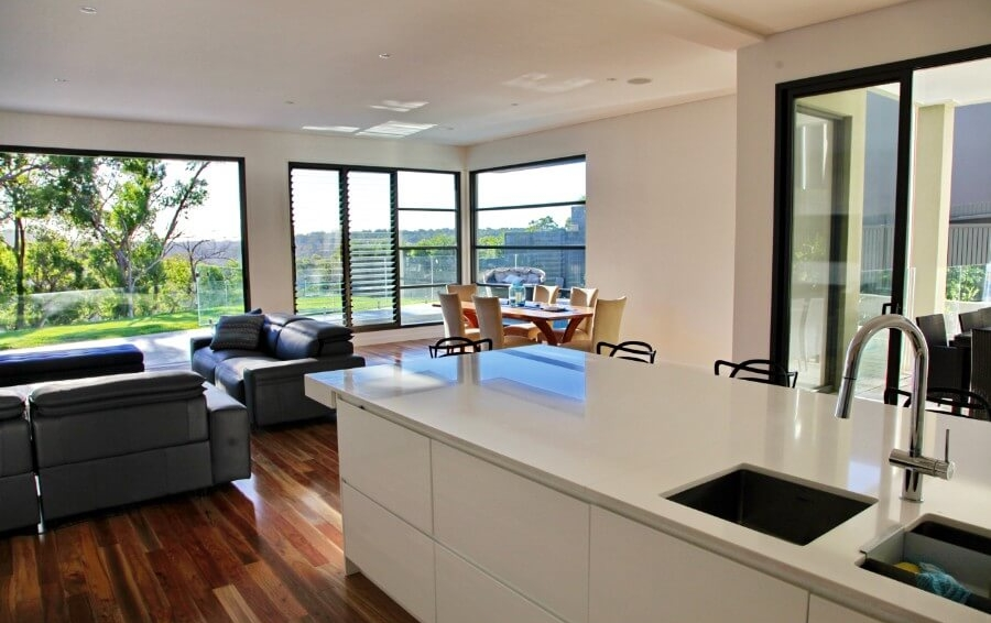 Kitchen, Dinning Room & Lounge - New Luxury Home - Seaforth - The Right Builder