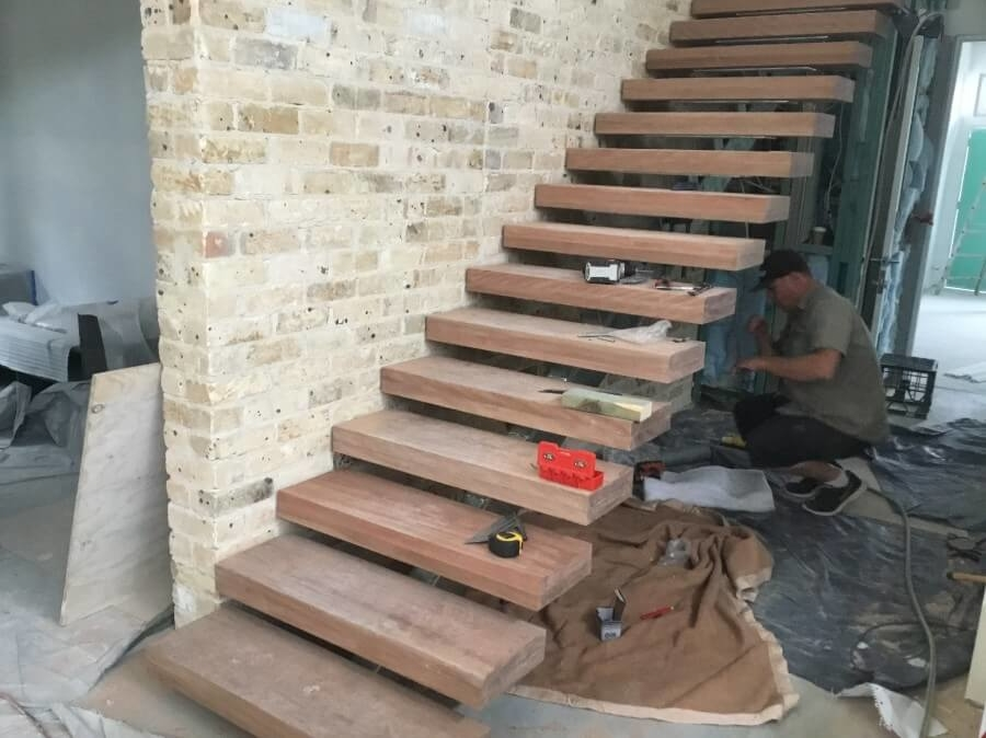 Design & Construction Staircase in New Home Manly - The Right Builder