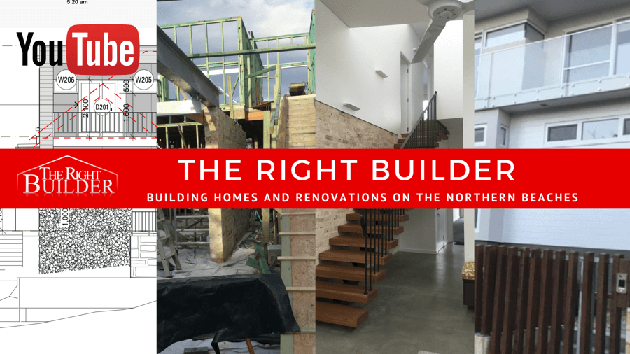 Watch Our YouTube Videos - The Right Builder